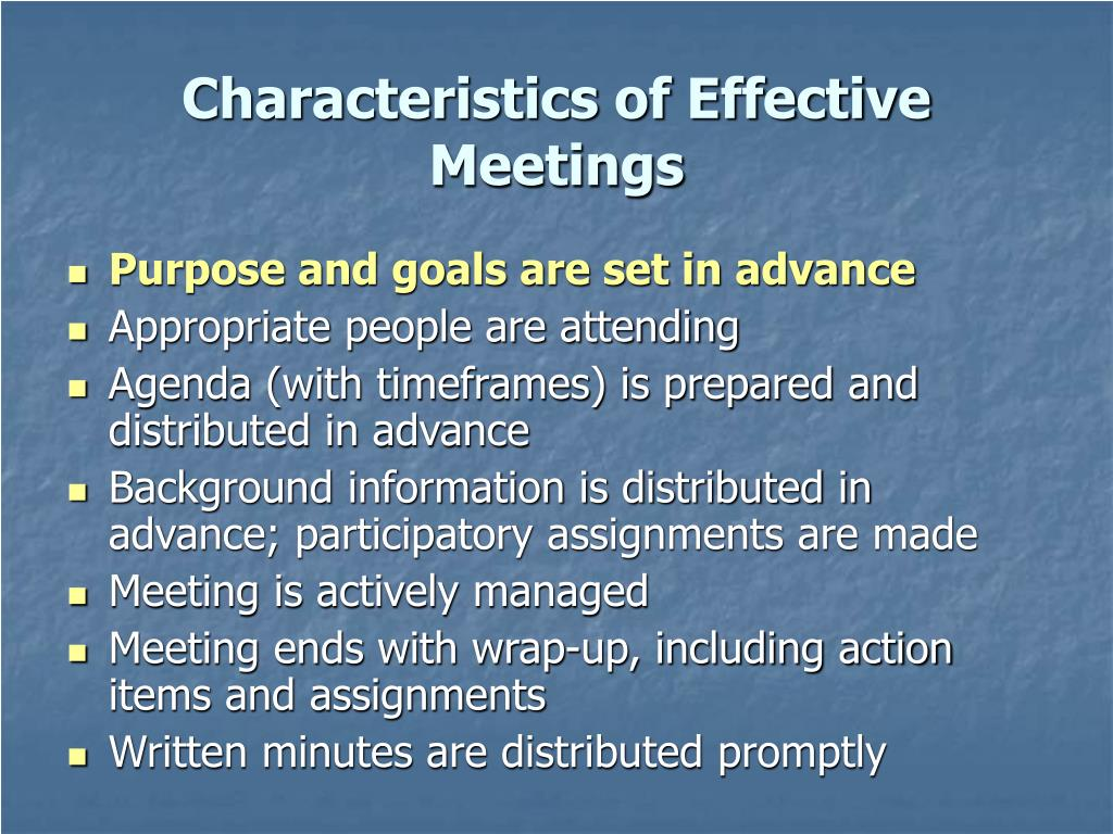 three characteristics of effective work groups essay 2 the 10 effective qualities retrieved from the importance of work groups in.