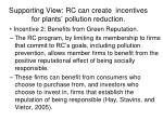 supporting view rc can create incentives for plants pollution reduction