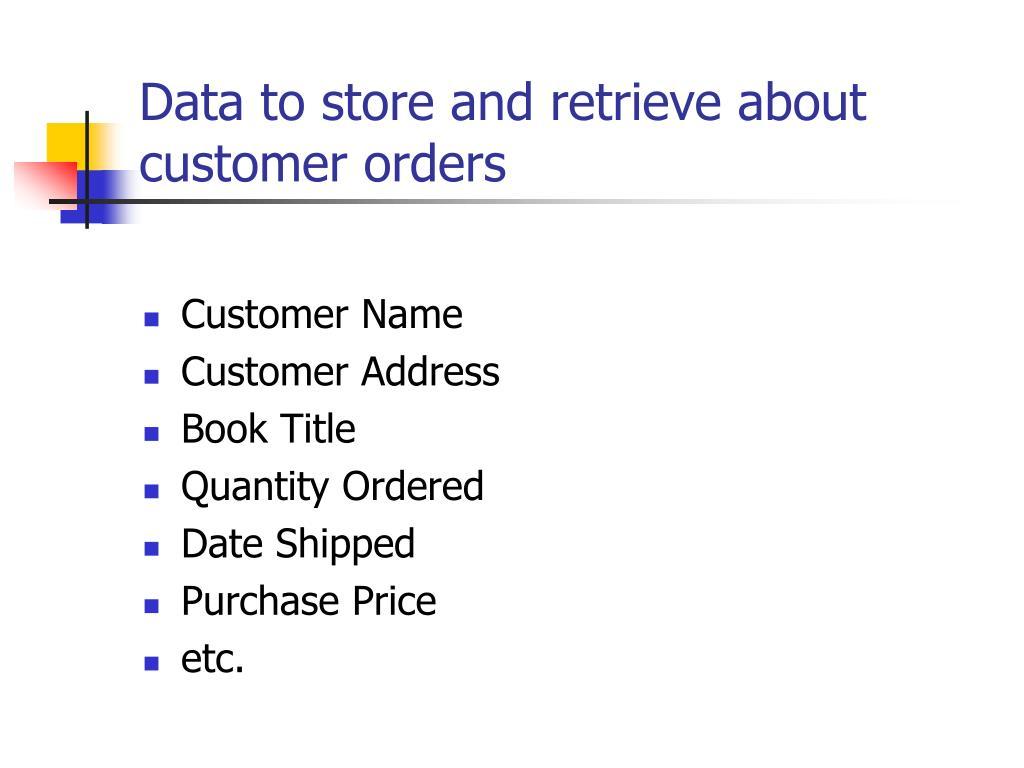 Customer Name