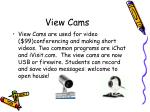 view cams