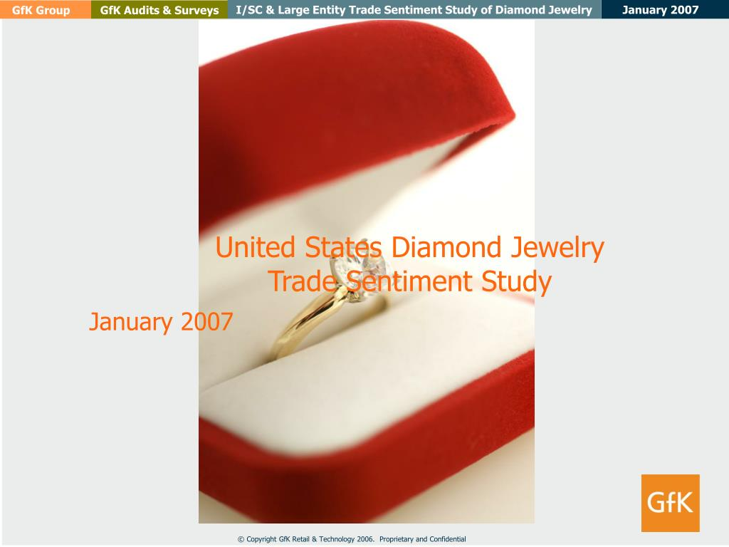 united states diamond jewelry trade sentiment study l.