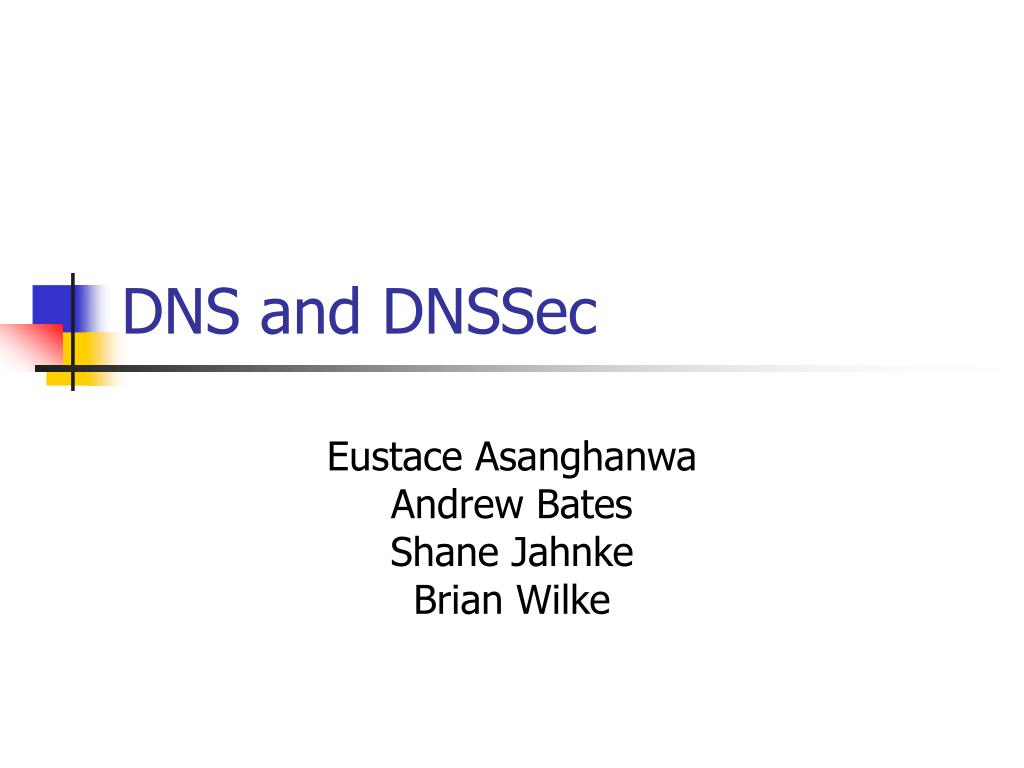 dns and dnssec l.