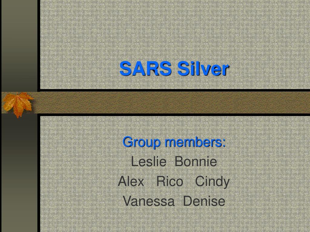 sars silver l.