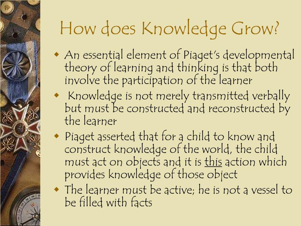 How does Knowledge Grow?