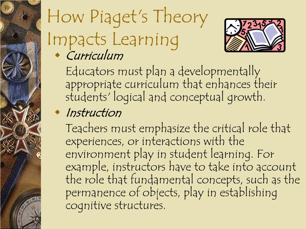 How Piaget's Theory