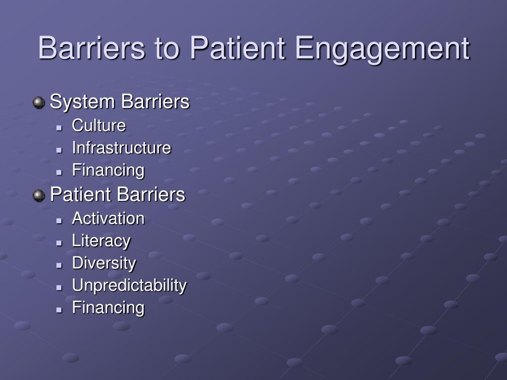 Ppt Patient Engagement And Self Management Powerpoint Presentation Id 406368
