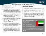 why united arab emirates