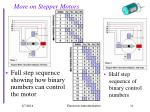 more on stepper motors34