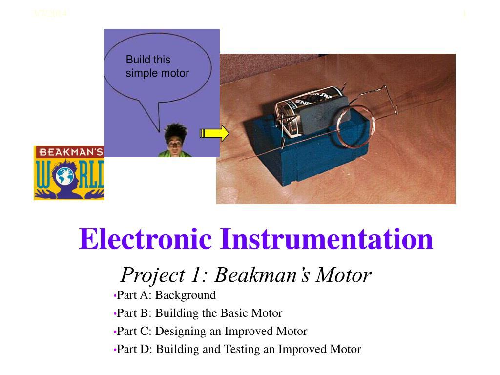 project 1 beakman s motor l.