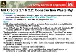 mr credits 2 1 2 2 construction waste mgt