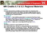 mr credits 5 1 5 2 regional materials