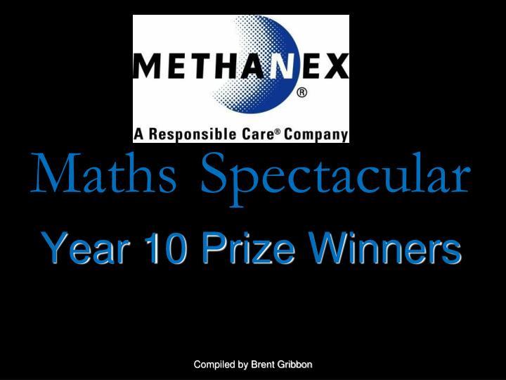 Maths spectacular
