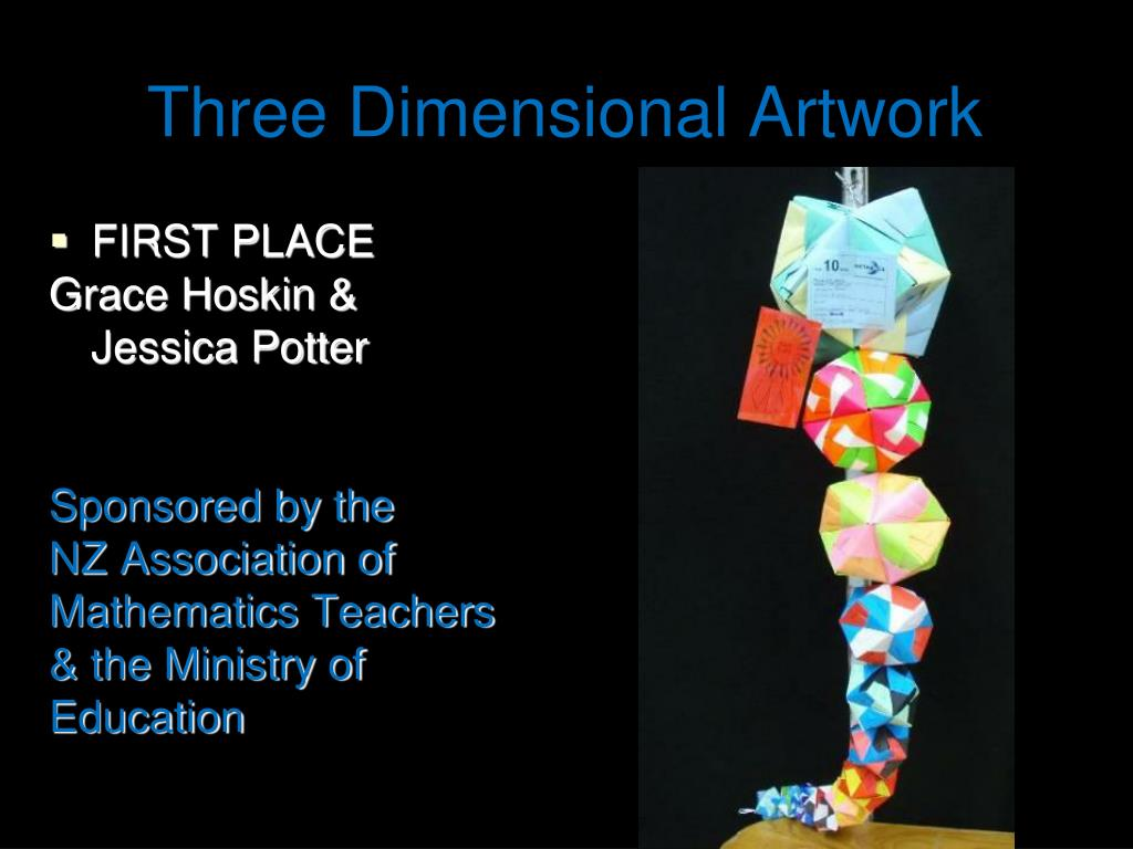 Three Dimensional Artwork