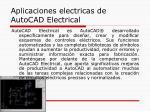 aplicaciones electricas de autocad electrical