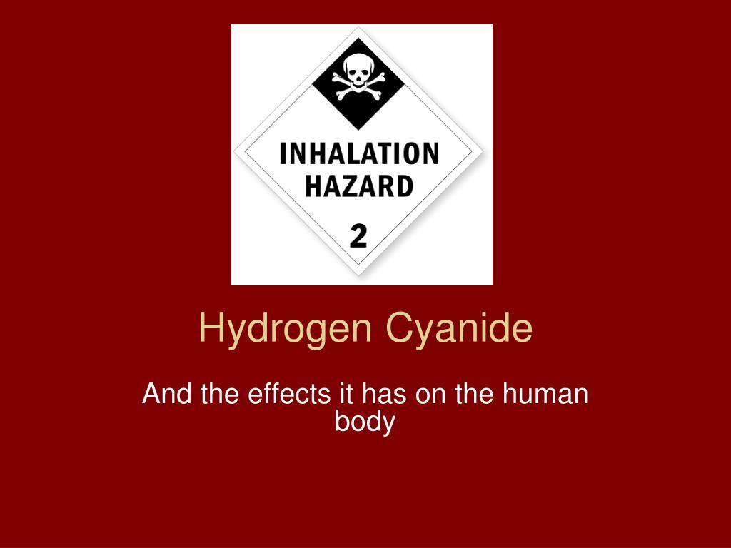 PPT - Hydrogen Cyanide PowerPoint Presentation - ID:406503