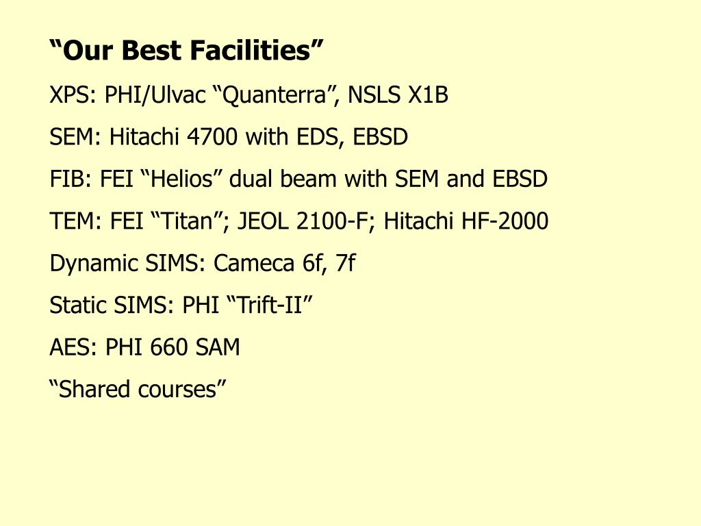 """Our Best Facilities"""