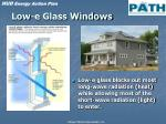 low e glass windows