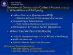 overview of construction contract process continued11