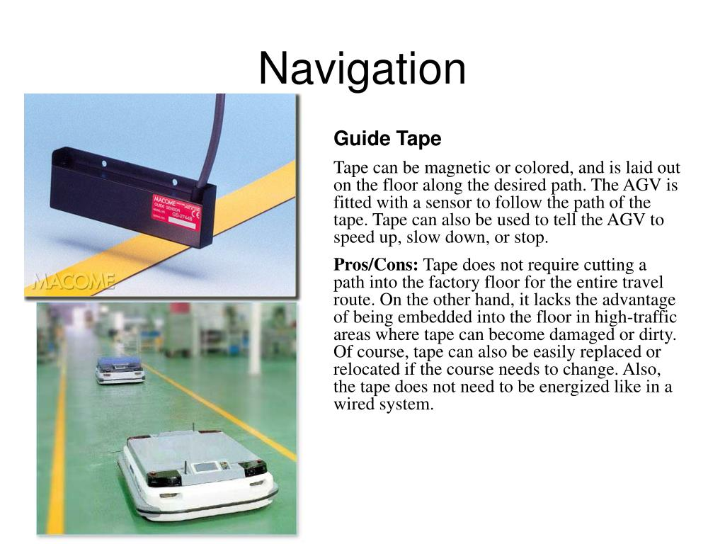 Ppt Agv Control Systems Powerpoint Presentation Id 406754