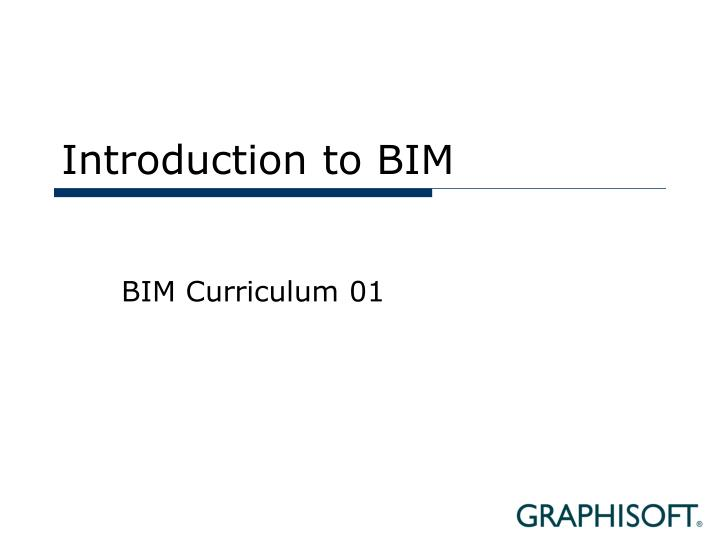 introduction to bim essay Essay about introduction to bim what is bim building information modeling (bim): a gateway for the future building information modeling (bim) is a process of creating and managing building data during its development is a three-dimensional.