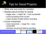 tips for good projects13