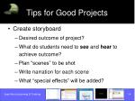 tips for good projects14