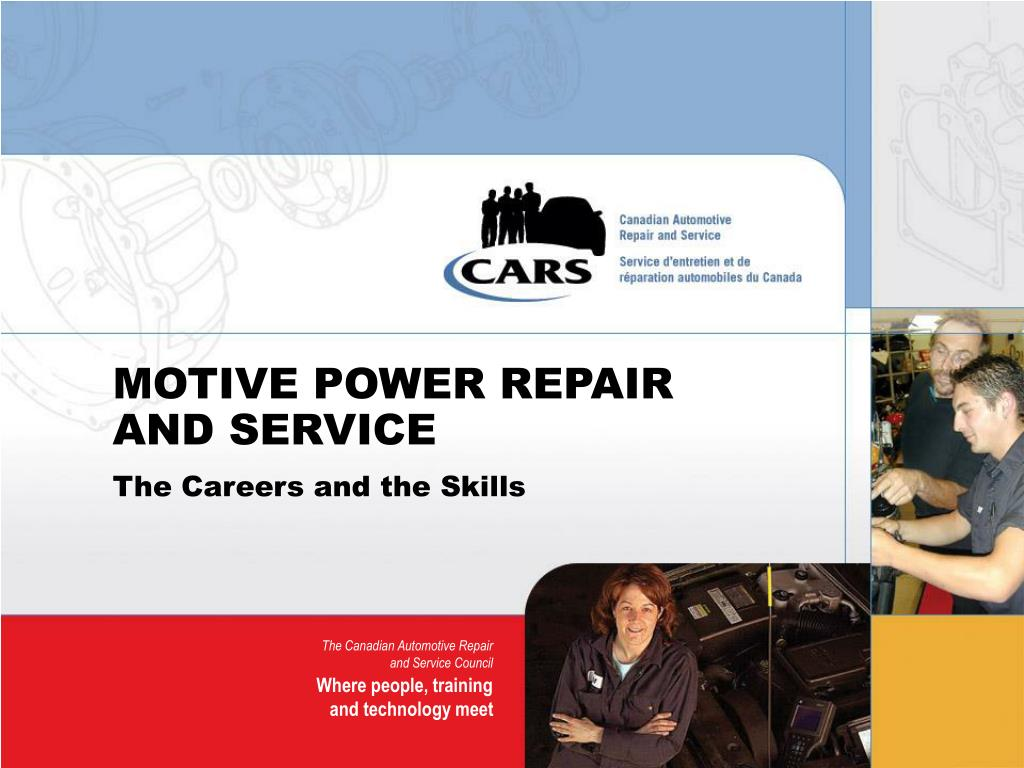 motive power repair and service l.