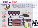 pap vs rap