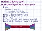 trends gilder s law 3x bandwidth year for 25 more years
