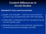 content differences in social studies29