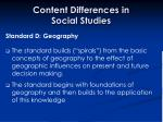 content differences in social studies31