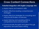 cross content connections41