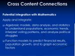 cross content connections42