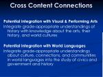 cross content connections44
