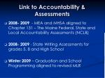 link to accountability assessments