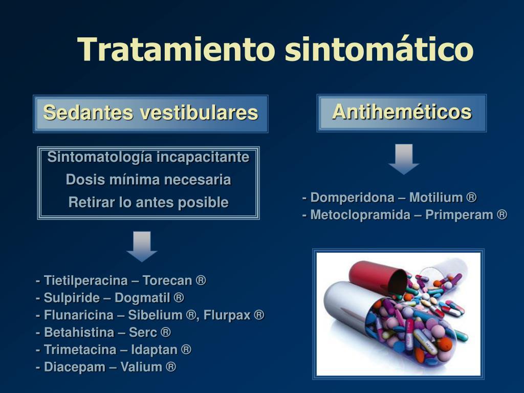 Tratamiento sintomático