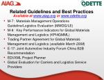 related guidelines and best practices