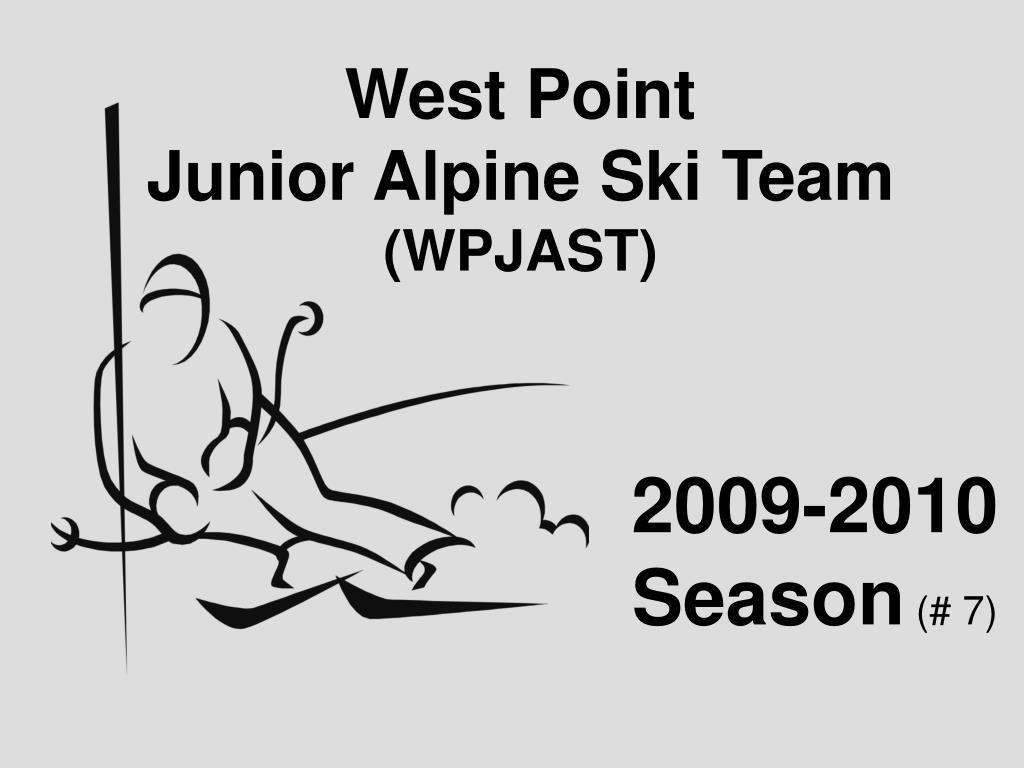 west point junior alpine ski team wpjast l.
