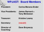 wpjast board members