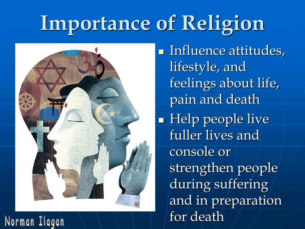 Influence attitudes, lifestyle, and feelings about life, pain and death