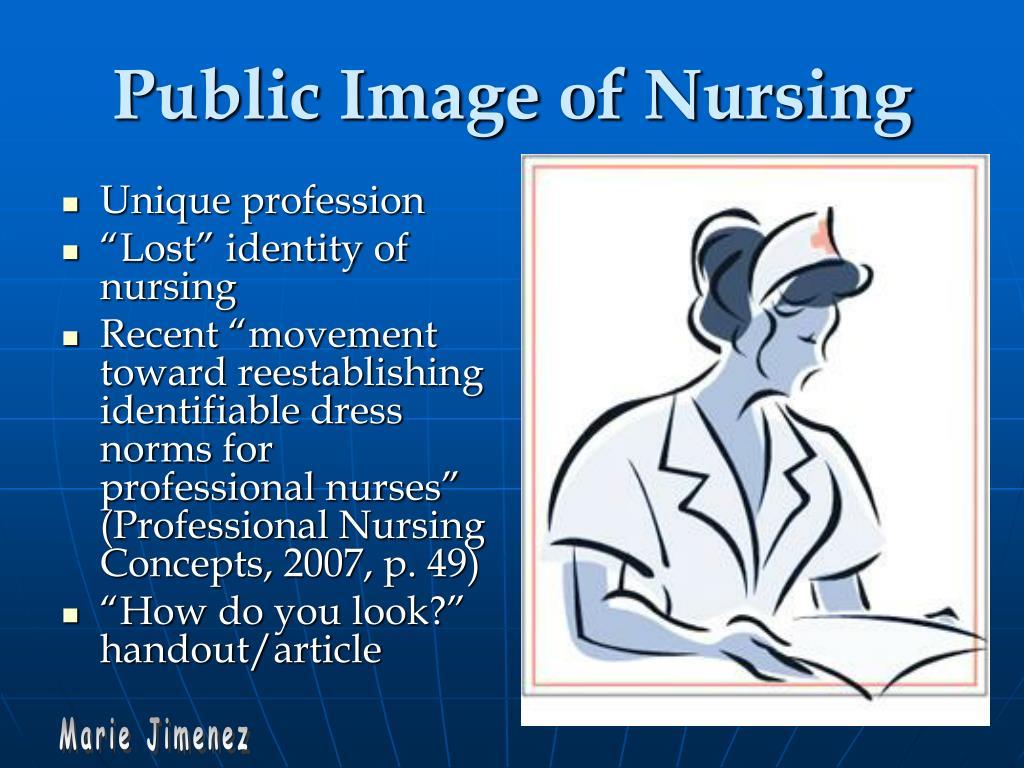 Public Image of Nursing