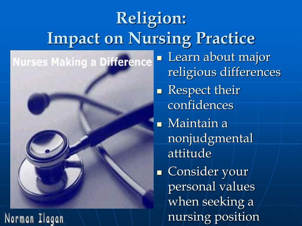 the impact of religious practice on