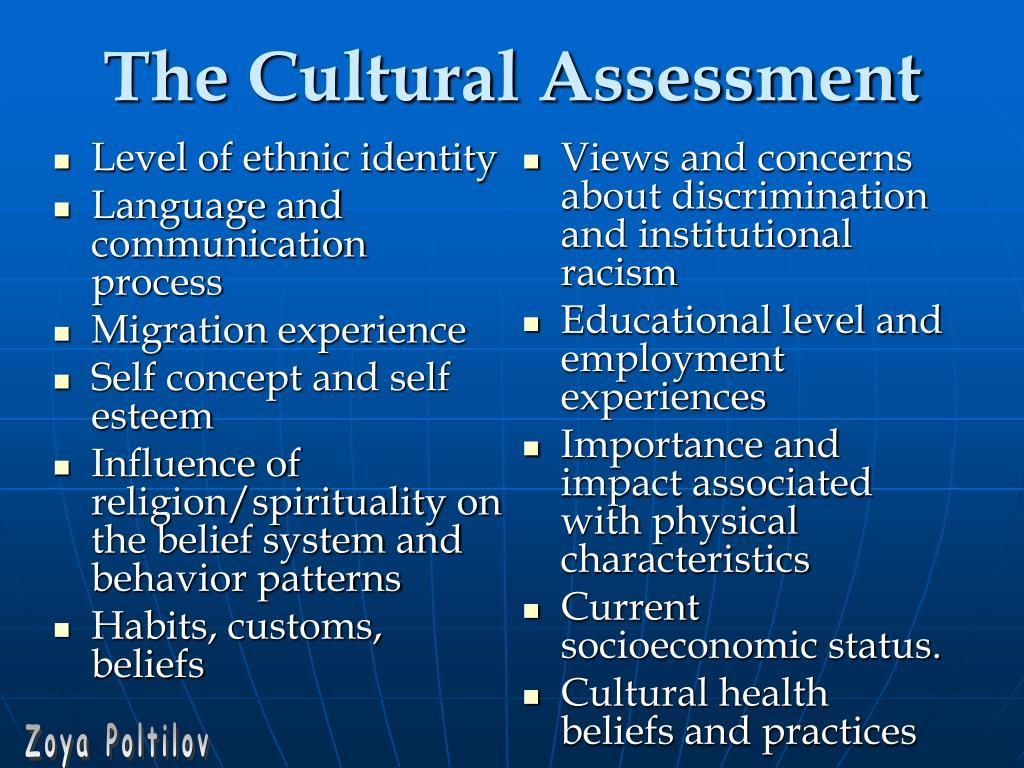 Level of ethnic identity
