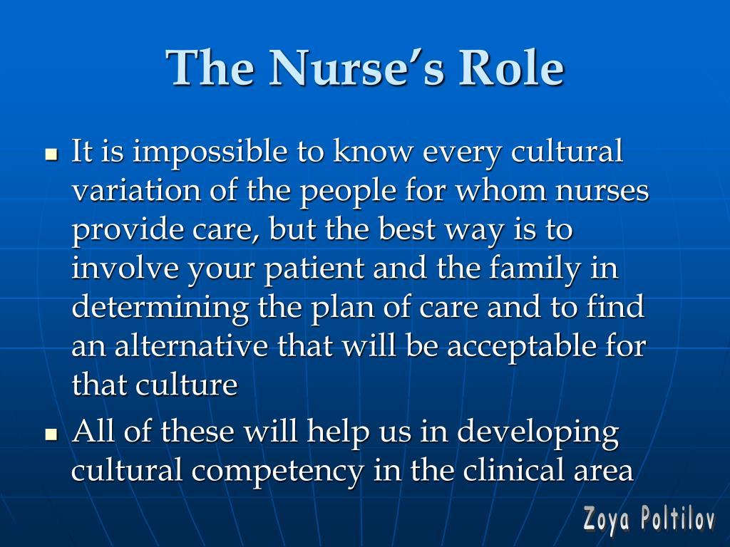 The Nurse's Role