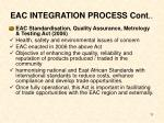 eac integration process cont11