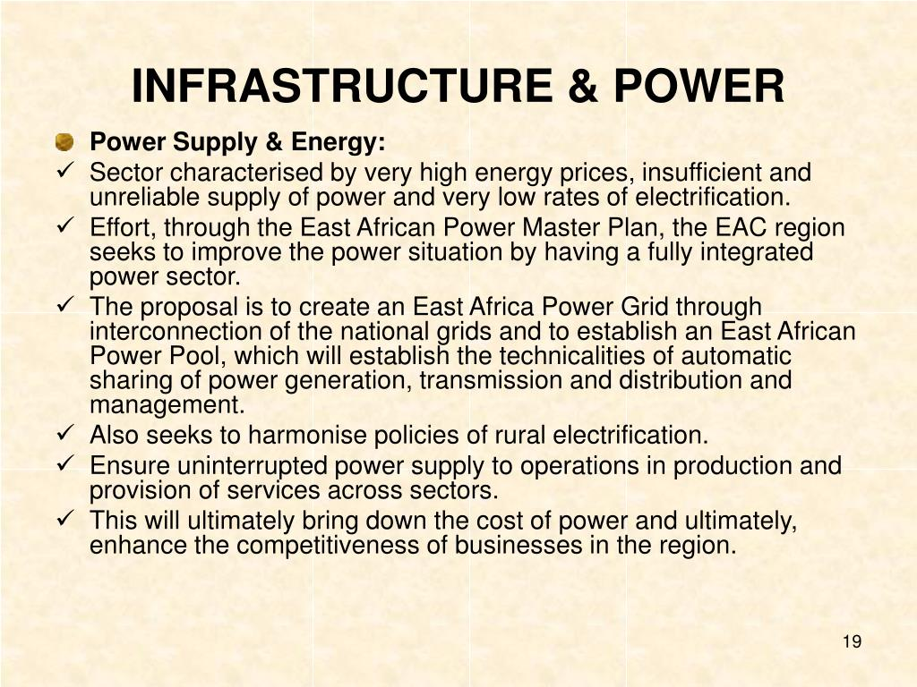 INFRASTRUCTURE & POWER