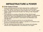 infrastructure power