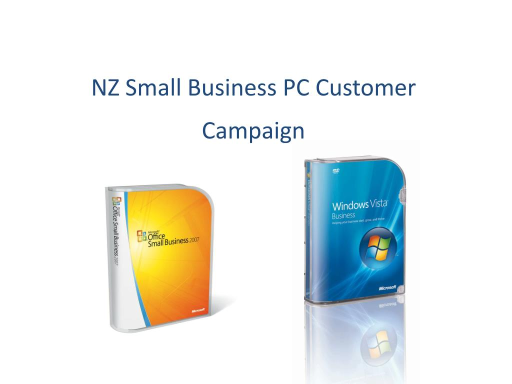 nz small business pc customer campaign l.