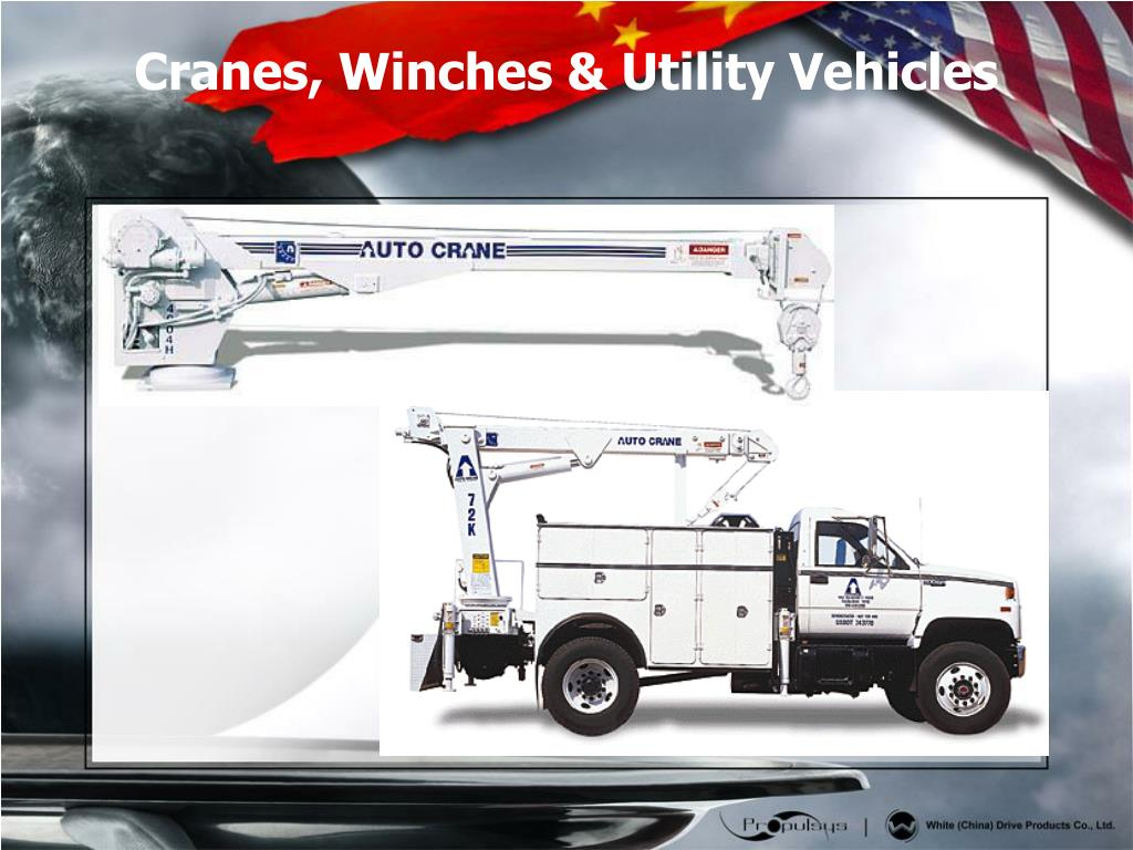 Cranes, Winches & Utility Vehicles