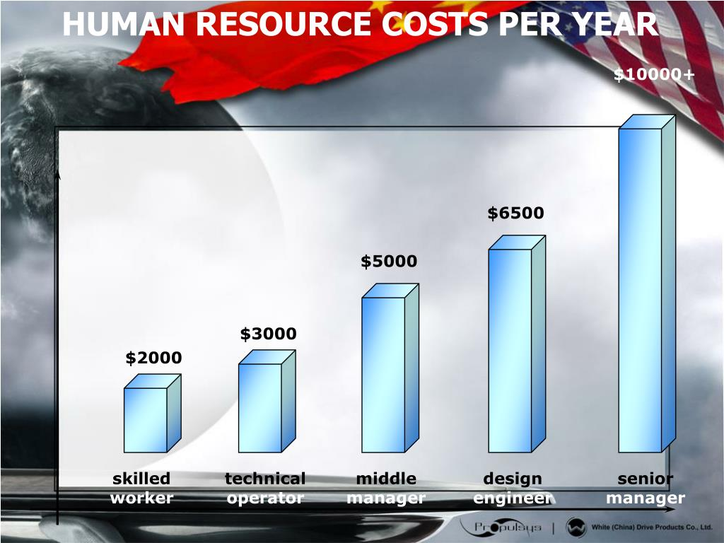 HUMAN RESOURCE COSTS PER YEAR